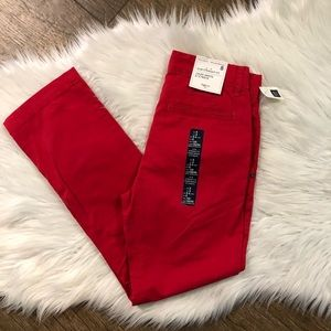 Boys GAP Red Pants
